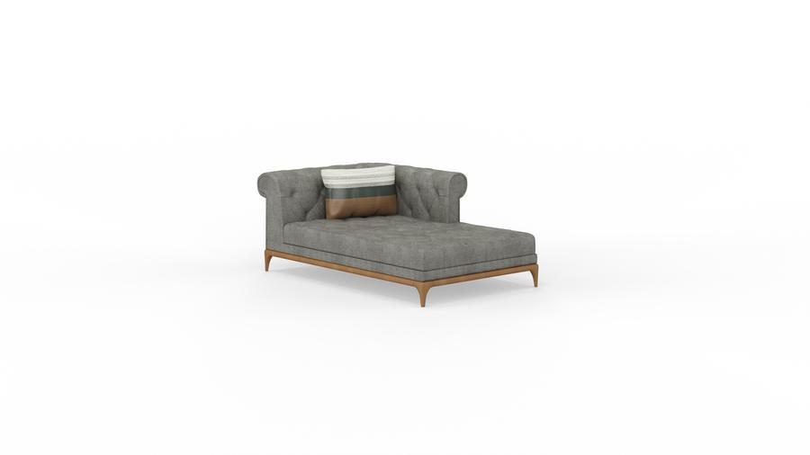 MODERN CHESTER Chaise Sofa