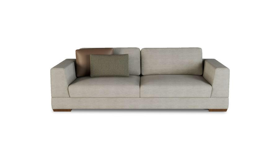 BIKOM 3.5-Seater Sofa Bed with Back Cushion