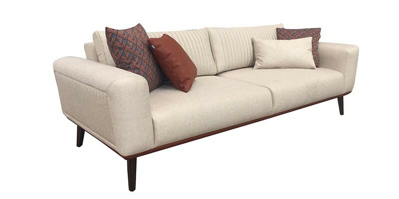 CARBON Three Seater Sofa Bed